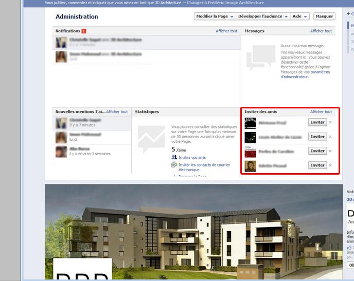 aimer une page facebook
